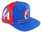 Los Angeles Clippers Adidas Blue Snapback Adjustable Hat (One Size Fits All)