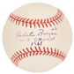 "Clete Boyer Autographed New York Yankees Official MLB Baseball w/""WS CHamps 1961"" Insc"