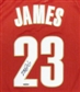 LeBron James Autographed Cleveland Cavaliers Authentic 2003 Road Jersey UDA COA