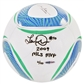"Landon Donovan Autographed Match Ball Inscribed ""2009 MLS MVP"" UDA #006/110"