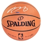 LeBron James Autographed Cleveland Cavaliers Spalding Basketball (UDA)