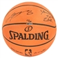 "LeBron James Autographed Cleveland Cavs Spalding Basketball w/""Youngest to 20k"" Inscr. (UDA)"