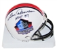 Len Dawson Autographed Hall of Fame Mini Helmet