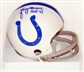 Lenny Moore Autographed Baltimore Colts Mini Helmet