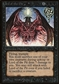 Magic the Gathering Beta Single Lord of the Pit - MODERATE PLAY (MP)