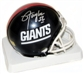 Lawrence Taylor Autographed New York Giants Mini Football Helmet