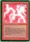 Magic the Gathering Dark Single Ball Lightning - MODERATE PLAY (MP)