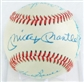 New York Yankees Legends Autographed Baseball w/ Mantle, Ford, Skowron, Bauer +