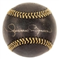Mariano Rivera Autographed New York Yankees Black Leather Baseball (Steiner)
