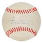 Willie Mays Autographed San Francisco Giants NL Baseball (JSA COA) William D White