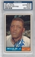 1961 Topps Baseball #160 Willie Mays Autographed Card (PSA)