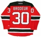 Martin Brodeur Autographed New Jersey Devils Hockey Jersey (DACW COA)