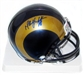 Marshall Faulk Autographed St. Louis Rams Mini Helmet