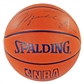 Michael Jordan Autographed Chicago Bulls Official Spalding Basketball (UDA)