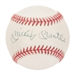 Mickey Mantle Autographed New York Yankees Official MLB Baseball (UDA)