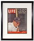 "Mickey Mantle Autographed NY Yankees Framed 8x11 ""Life"" Cover (JSA)"