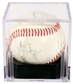 Mickey Mantle Autographed Multi Signed New York Yankees Baseball (PSA 6)