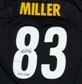 Heath Miller Autographed Pittsburgh Steelers Reebok Jersey