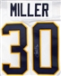 Ryan Miller Autographed Buffalo Sabres White Hockey Jersey (Away)