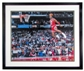 "Michael Jordan Autographed & Framed ""Gatorade Slam Dunk"" Basketball 16x20 Photo"