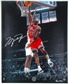 Michael Jordan Autographed Chicago Bulls 16x20 Photo #/123 (UDA COA)