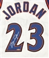 Michael Jordan Autographed Washington Wizards Authentic Jersey (UDA COA)