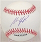 Matt Laporta Autographed Baseball (Slightly Stained) (UDA COA)