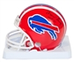 Marv Levy Autographed Buffalo Bills Football Mini Helmet w/HOF 01