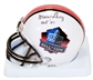 Marv Levy Autographed Hall of Fame Football Mini Helmet w/HOF 01