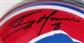 Brian Moorman Autographed Buffalo Bills Mini-Helmet