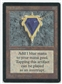 Magic the Gathering Beta Single Mox Sapphire - NEAR MINT / SLIGHT PLAY (SP)