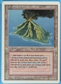 Magic the Gathering 3rd Ed (Revised) Single Volcanic Island - MODERATE PLAY (MP)