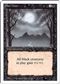 Magic the Gathering 3rd Ed (Revised) Single Bad Moon - MODERATE PLAY (MP)