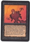 Magic the Gathering Alpha Single Nether Shadow - SLIGHT PLAY (SP)