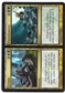 Magic the Gathering Dissension Single Crime//Punishment FOIL - HIGH PLAY (HP)