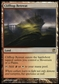 Magic the Gathering Innistrad Single Clifftop Retreat - MODERATE PLAY (MP)