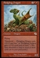 Magic the Gathering Judgment Single Fledgling Dragon - SLIGHT PLAY (SP)