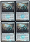 Magic the Gathering New Phyrexia PLAYSET Puresteel Paladin FOIL X4 - NEAR MINT (NM)