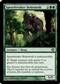 Magic the Gathering Shards of Alara Single Spearbreaker Behemoth Foil - SLIGHT PLAY (SP)