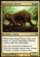Magic the Gathering Shards of Alara Single Sprouting Thrinax FOIL - NEAR MINT (NM)