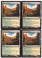 Magic the Gathering Born of the Gods PLAYSET Temple of Plenty X4 - NEAR MINT (NM)