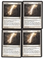 Magic the Gathering Avacyn Restored PLAYSET Terminus X4 - NEAR MINT (NM)