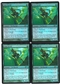 Magic the Gathering Promo PLAYSET Wild Nacatly FOIL (FNM) X4 - NEAR MINT (NM)
