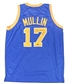 "Chris Mullin Autographed Golden State Warriors Jersey w/""HOF 2011"" Inscription (Leaf)"