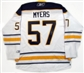 Tyler Myers Autographed Buffalo Sabres White Hockey Jersey