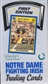 1990 Collegiate Collection Notre Dame Football Hobby Box