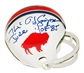 "O.J. Simpson Autographed Buffalo Bills Mini Helmet ""The Juice"" (GAI COA)"