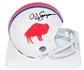 O.J. Simpson Autographed Buffalo Bills Throwback Mini Helmet (PSA)