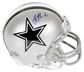 Troy Aikman Autographed Dallas Cowboys Mini Helmet (Mounted Memories)
