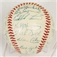 1954 Chicago Cubs Autographed Team Signed Baseball (JSA COA)